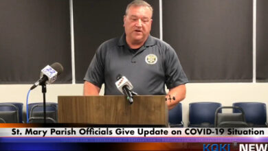 Photo of Video: St. Mary Holds Press Conference on  COVID-19