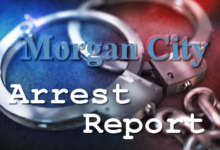 Photo of Morgan City Arrest Report 11-25-2020