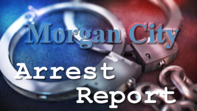 Photo of Morgan City Arrest Report 8-12-2020