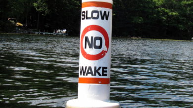 Photo of No Wake Zones in Effect for Pierre Part Bay and Belle River