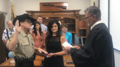 Photo of Sheriff Becket Breaux Sworn In As New Sheriff Of St. Martin Parish