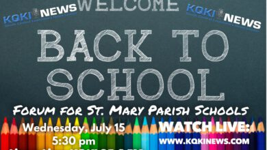 """Photo of KQKI to Broadcast """"Welcome Back to School"""" Forum in Partnership with St. Mary Parish Schools"""