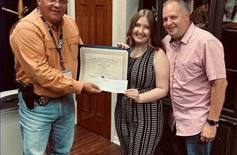 Photo of Louisiana Sheriff's Scholarship Awarded