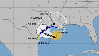 Photo of Update on Tropical Storm Beta, Tropical Storm Watch issued from East of Intracoastal City to Morgan City